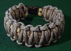 survival bracelts...cute for camping