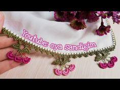 Crochet Necklace, Lily, Elsa, Crochet Edgings, Jewelry, Youtube, Instagram, Ganchillo, Bijoux