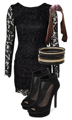 """""""Katherine Pierce Inspired New Years Eve Outfit"""" by mytvdstyle ❤ liked on Polyvore featuring Jessica Simpson, Charlotte Russe, Inspired, tvd and thevampirediaries"""