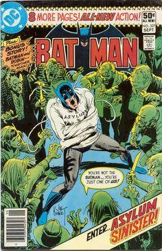 Do you dare enter Arkham Asylum? Ordinary criminals go to jail. Batman's rogues gallery go here!