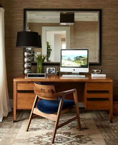 This workspace has Mad Men written all over it.