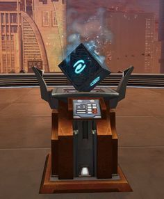 Light Datacron (Aim) SWTOR Strongholds technological decoration in Star Wars: The Old Republic. The Old Republic, Arcade Games, Landline Phone, Old Things, Star Wars, Stars, Cosplay, Decorations, Starwars