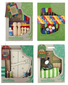 Seedling craft kits are so awesome because they're affordable, ready-made gifts for kids of all ages.