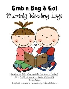 This is a set of 12 simple, ready to use, reading logs.  These reading logs can be used alone or in conjunction with any and all of the other Grab ...