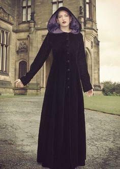 Velvet Lindisfarne Coat