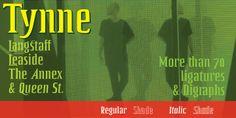 Tynne - Webfont & Desktop font « MyFonts
