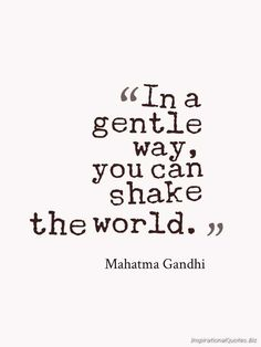 Inspirational Quote by Mahatma Gandhi
