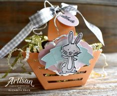 Seeing Ink Spots: Itty Bitty Baskets for Easter