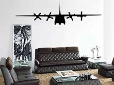 C 130 c130 Military Army Cargo Airplane #2 Wall Art Sticker Vinyl Decal Kid Room Decor Designed by Silhouettes Society Silhouette Society http://www.amazon.com/dp/B015PK2ZOS/ref=cm_sw_r_pi_dp_ffmzwb1X7NJ1P