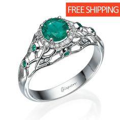 Anillo de mujer 925 Sterling plata rhodiniert mate 5 circonita; anillo de plata