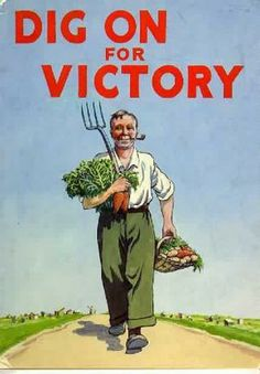 Dig on for Victory  UK  c. 1939-1945