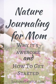 Nature Journaling for Mom Why It's Awesome and How To Get Started