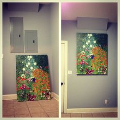Breaker Box Cover Up, Use An Oversized Canvas Covered With Fabric Or  Painted?