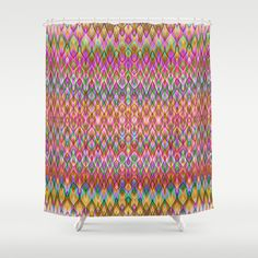 Missoni Style Shower Curtain