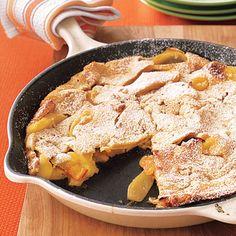 Dutch Baby Apple Pancake Baby Apple, Apple Pancake Recipe, Pancake Recipes, Apple Cake, Dutch Baby Pancake, Breakfast Pancakes, Fall Breakfast, Breakfast Menu, Breakfast Pastries