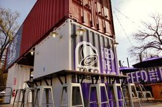 Taco Bell Builds Its First Shipping Container Store