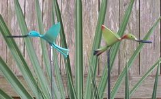 PVC Craft Birds | Why they chose PVC to make the bird sculptures?