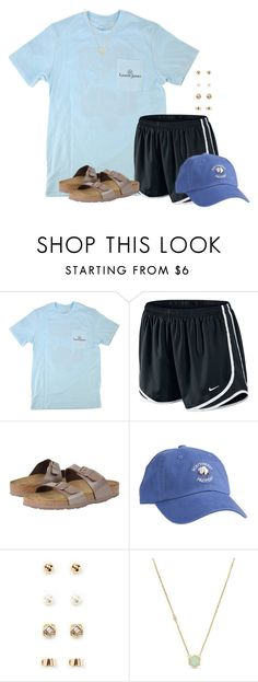 """""""Keep praying for the police officers. #bluelivesmatter"""" by flroasburn ❤ liked on Polyvore featuring NIKE, Birkenstock, Forever 21 and Cole Haan"""