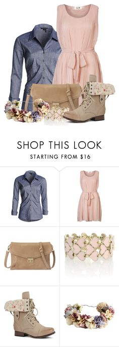 """RIDDLE"" by totallytrue ❤ liked on Polyvore featuring NIC+ZOE, Molly Bracken, Nine West, Oasis and eliurpi"