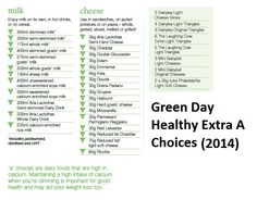 Green Day Healthy Extra 'A' Choices