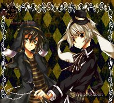 Are You Alice Manga Characters   ... You Alice?, March Hare (Are You Alice), White Rabbit (Are You Alice