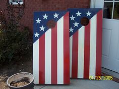 My cornhole Boards Crafty Projects, Fun Projects, Wood Projects, Woodworking Projects, Outdoor Projects, Project Ideas, Cute Crafts, Crafts To Make, Crafts For Kids