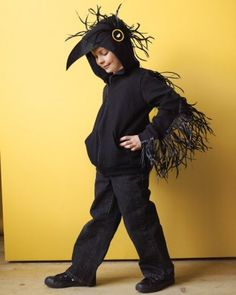 "See the ""Raven"" in our Homemade Kids' Halloween Costumes gallery"