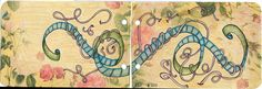 Tangled Up Thoughts-Journal Page | Flickr - By: Paint Chip; aka: Cindy Angiel