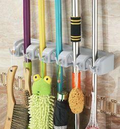 Broom Organizer Mop Organizer Wall Hanging Mop And Broom Magic Holder Mop  Holder