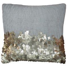 Eos Gold Throw Pillow CL9EOS01AGD