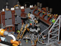 FOR SCIENCE!   23 Fantastical Steampunk LEGO Builds Designed From Scratch