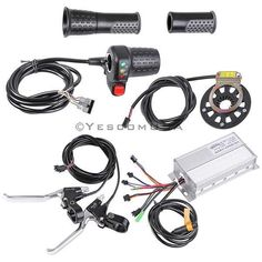 Brand new 26 Inch E-Bike Hub Motor Front Fat Tire Conversion Kit, added a charger and a battery bag to the kit, it is more convenient for you. 1000 watts motor has an excellent efficiency that more than allows the speed up to 45 KM/H. Electric Bike Kits, Best Electric Bikes, Electric Motor, Lead Acid Battery Charger, Aluminum Rims, Led, Ebay, Drift Trike, Motor Speed