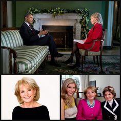 Barbara Walters, de 83 años, ícono del periodismo televisivo en Estados Unidos, se jubilará en mayo de 2014, según The Hollywood Report. | Clases de Periodismo