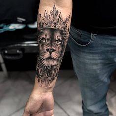 Popular Lion Tattoo Models In 2019 - Tattoos For Men: B.- Popular Lion Tattoo Models In 2019 – Tattoos For Men: Best Men Tattoo Model… Popular Lion Tattoo Models In 2019 – Tattoos For Men: Best Men Tattoo Models - Hand Tattoos, Lion Forearm Tattoos, Lion Head Tattoos, Bull Tattoos, Mens Lion Tattoo, Forarm Tattoos, Leo Tattoos, Best Sleeve Tattoos, Tattoo Sleeve Designs
