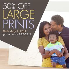 Two-days only, save 50% on Prints 11x14 and up!