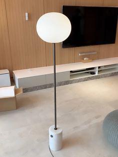 JWDA Floor Lamp – mooielight Desk Lamp, Table Lamp, Lighting Store, Oil Lamps, White Marble, Glass Shades, Floor Lamp, Light Bulb, Flooring