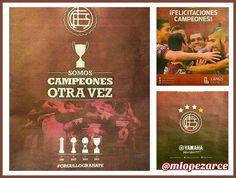 #HayOtroPartido. #Lanús se consagró #Campeón del #Fútbol #Argentino y tanto el #club como #patrocinadores saludan a los #campeones. #MarketingDeportivo. Mayo de #2016. #Argentina #BuenosAires #Lanus #Marketing #SportMarketing #Marca #Branding #Futbol #Soccer #Football #Futebol #AFA #CAL #Granate #Grana #OrgulloGranate #KDY. Maximiliano López Arce (Twitter e Instagram: @mlopezarce). by mlopezarce