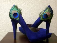 26 Ways To Pimp Your Pumps  Why walk around in frumpy footwear when you can take your heels to another level for relatively little time and money? Get out your glitter and your glue gun and follow along with these sweet DIY tutorials, because plain pumps are so passe.