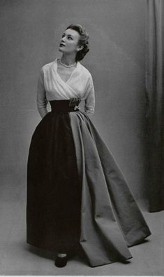 1951 - 'Grand Guignol' Christian Dior gown