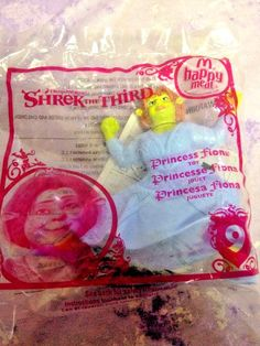 Princess Fiona Shrek The Third #9 NEW McDonalds Happy Meal Toy Figure Dreamworks #McDonalds