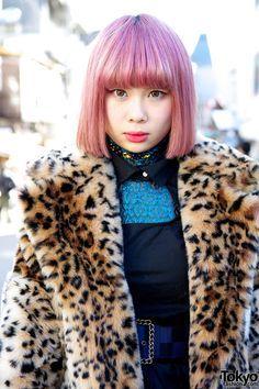 Pink Hair in Harajuku