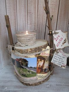 Tourist candelstick ,my idea , handmade