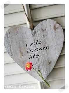 'Liefde overwint alles.'