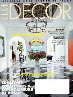 ELLE DECOR MAGAZINE MARCH 2021 ART ISSUE DESIGN NEW FABRICS MASTERPIECE KITCHEN Elle Decor Magazine, Cover Pics, Decoration, Magazines, Ebay, Design, Kitchen, Art, Decor