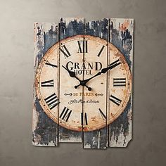 1000 images about reloj de pared on pinterest clock photo frame walls and - Pendule decorative murale ...