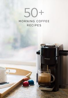 This collection of easy morning coffee recipes from Nespresso will ensure the start of your day is never boring. Enjoy classic coffee drinks like Espresso Macchiato and Caffè Latte or indulge your adventurous side with recipes like Indian Spicy Coffee and Granola Coffee.