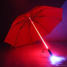 Wholesale cheap led umbrella online, brand - Find best 4 color sale led umbrella star wars umbrella rain women men high quality light flash umbrella night protection gift at discount prices from Chinese umbrellas supplier - gamers on DHgate.com.