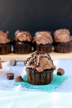 Reese's Peanut Butter Cup Frosting | beyondfrosting.com | #reeses #frosting