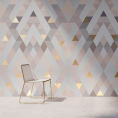 25 Fantastic Contemporary Wallpaper Ideas - Mesmerizing Contemporary Home Decor Ideas. for bedroom 25 Fantastic Contemporary Wallpaper Ideas Interior Wallpaper, Wallpaper Decor, Home Wallpaper, Grey Wallpaper Ideas For Bedroom, Geometric Wallpaper Living Room, Grey Wallpaper Living Room, Wallpaper Designs For Walls, Wallpaper Design For Bedroom, Bts Wallpaper