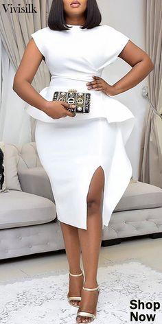 Elegant Dresses Classy, Classy Dress, Classy Outfits, Sexy Outfits, Short African Dresses, African Fashion Skirts, Short Dresses, Posh Dresses, Casual Dresses